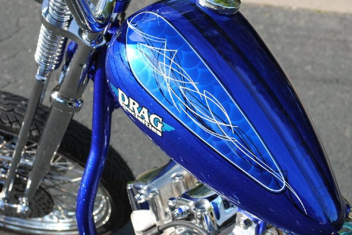 """2011 Drag Bike """"Old Book"""""""