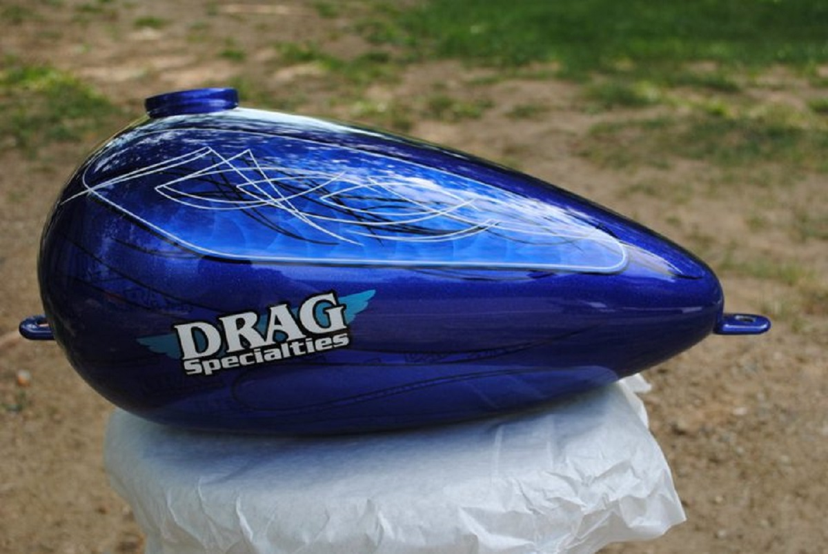 "2011 Drag Bike ""Old Book"""