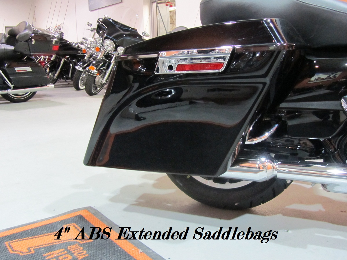 "4"" ABS Extended Saddlebags"