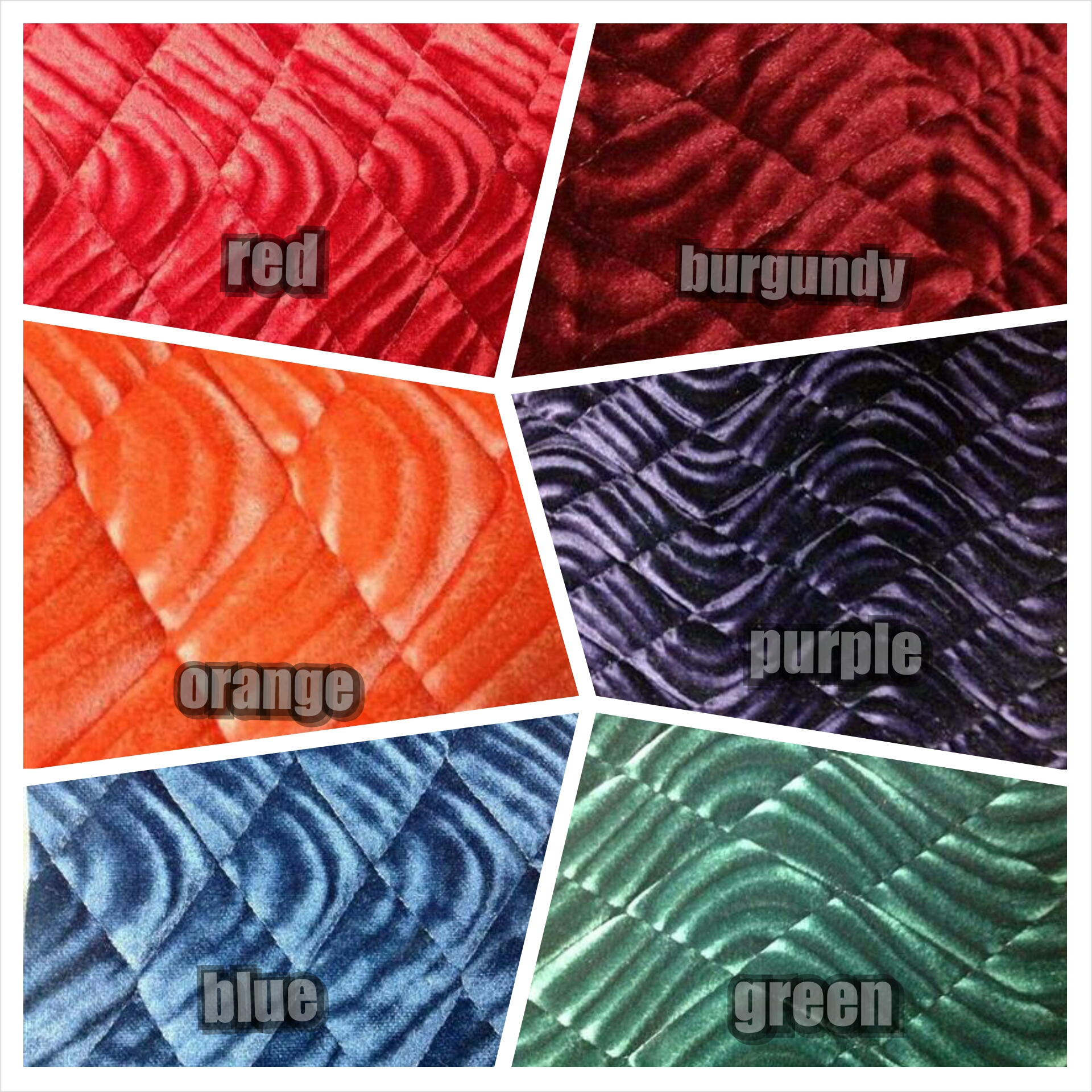 Saddlebag Liner Colors Zees