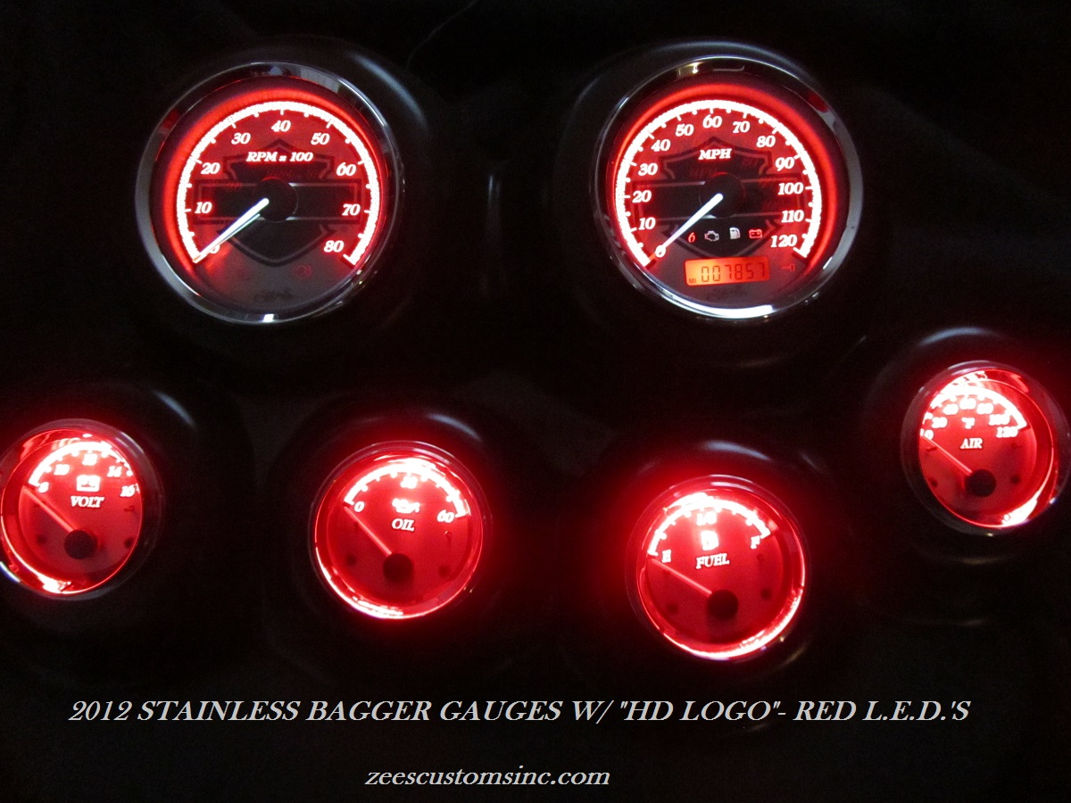 "2012 Roadglide ""HD LOGO"" With Red LED's"