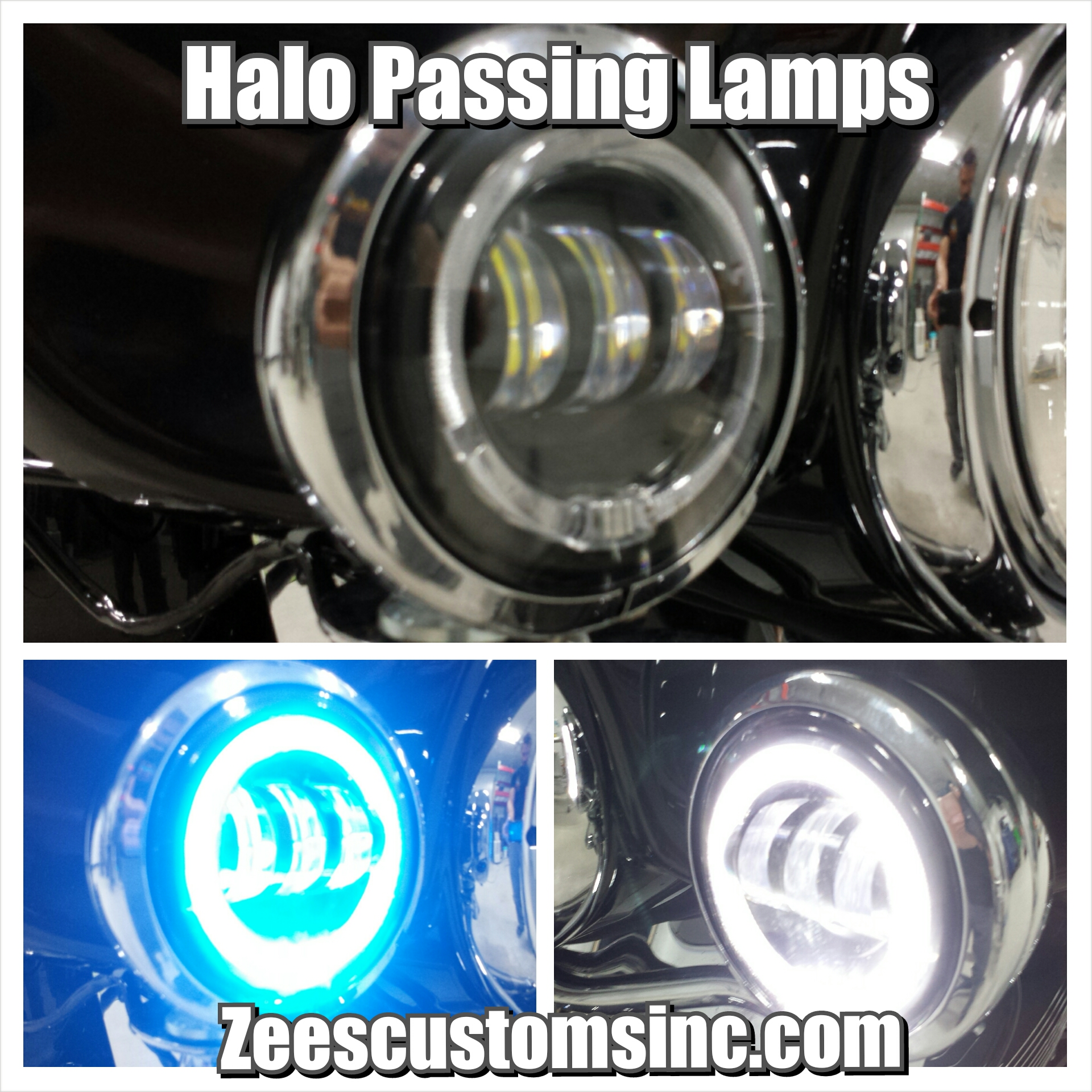 Halo Passing lamps